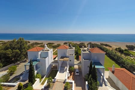Rhodes Luxury waterfront Villa with private pool - Rodos