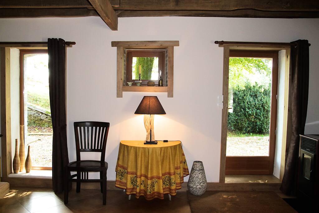 Deel van de woonkamer