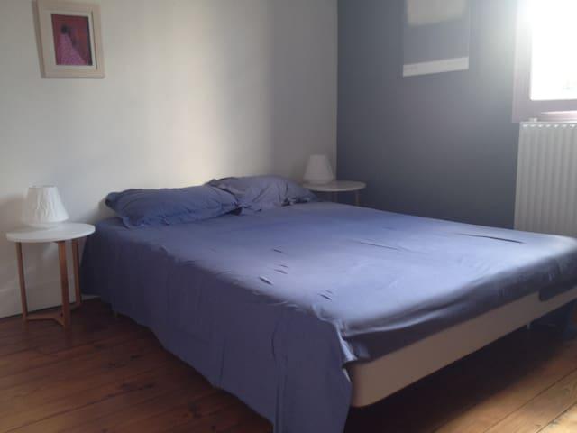 Chambre privée 1 ou 2 personnes - Le Bouscat - Dům