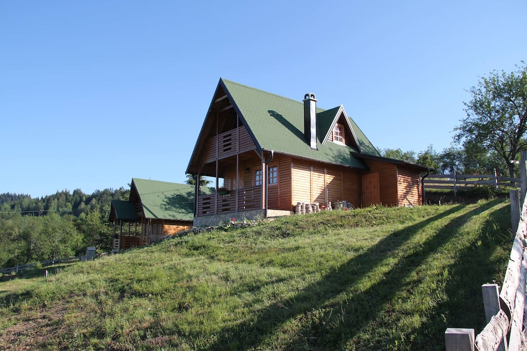 View of the Lodges