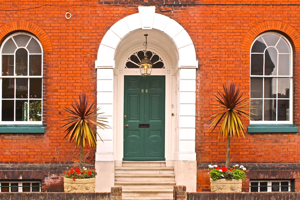 Front door Shepherd House (56 Preston Street)