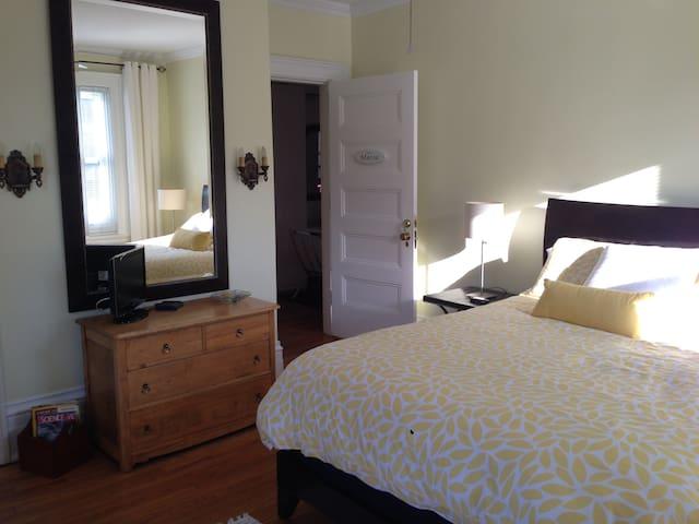 L'Émerillon - chambre Maria - Trois-Rivières - Bed & Breakfast