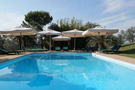 Villa Tuscany pool a/c wifi panoramic view - Montespertoli
