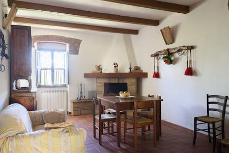 Agriturismo Carbonaio: La caciaia - Sorano - Apartamento