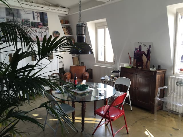 Loft paris1 centre Louvre/Chatelet