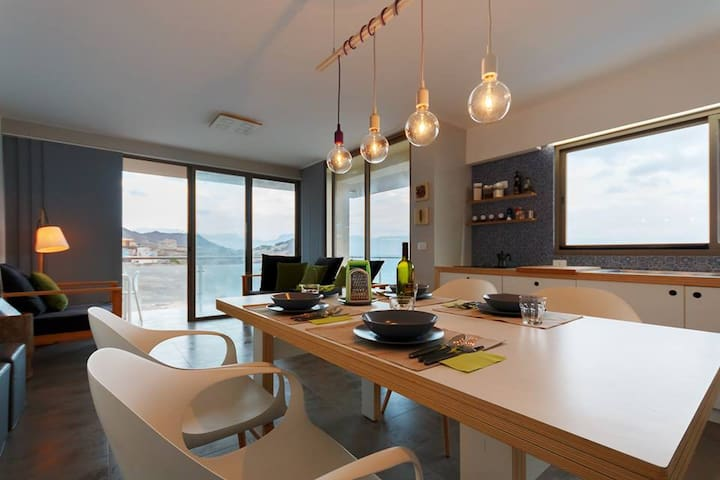 Holiday house on the Mindelo bay !! - Lazareto - Byt