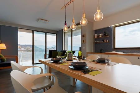 Holiday house on the Mindelo bay !! - Lazareto - อพาร์ทเมนท์