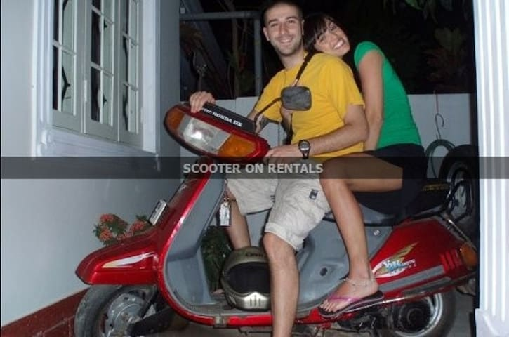SCOOTER ON RENT