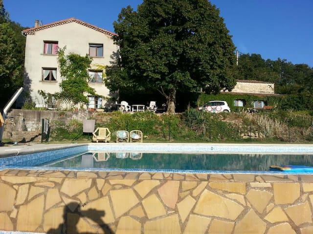 Maison familiale dans la Drôme - Vaunaveys-la-Rochette