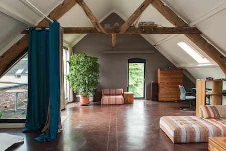 Excl. Luxe kasteel-loft near BRU - Kapelle-op-den-Bos - 阁楼