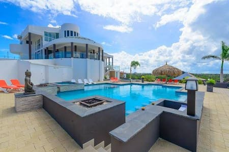 Magnificent mansion with million dollar view of Aruba - Noord