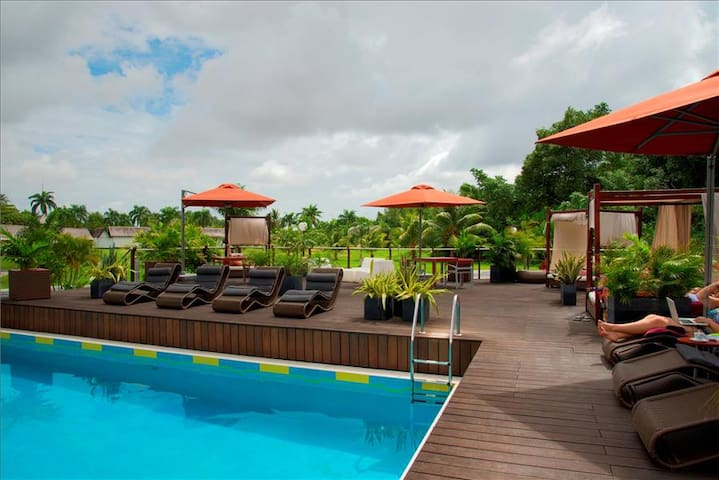 Executive Rooms and high comfort. Suriname