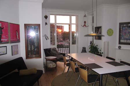 Room near trendy area of Copenhagen