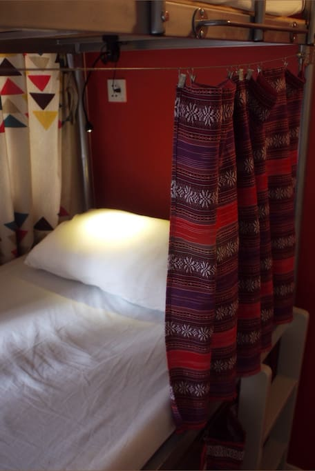 Bed Curtains- Some Privacy in a dorm