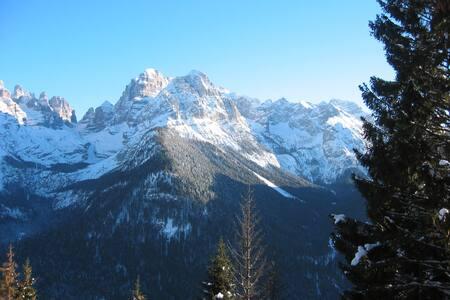 """Studio Flat """"Gran panorama"""" - Madonna di Campiglio - กระท่อมบนภูเขา"""