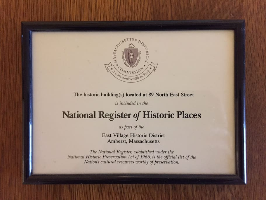 National Registry of Historic Places