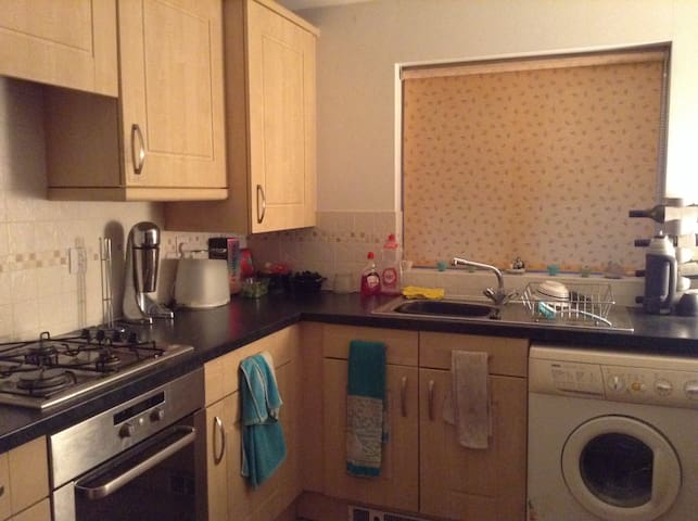 Cosy 1BD Rugby World Cup Flat - Caerphilly - Appartement