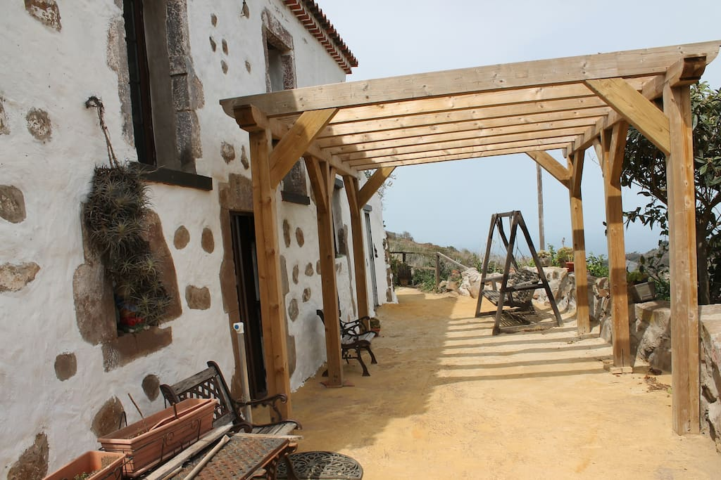Casa rural tradicional canaria casas en alquiler en - Casas de madera gran canaria ...