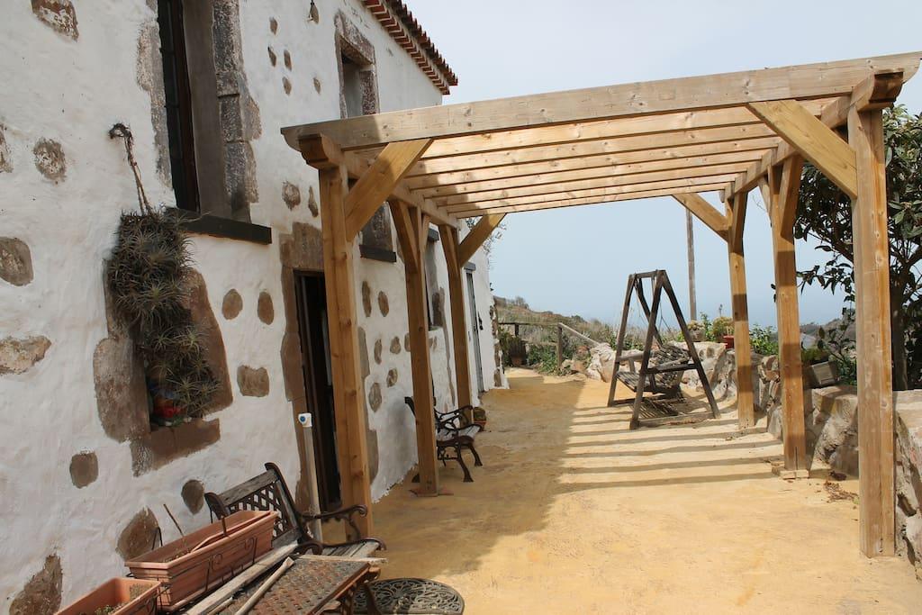 Casa rural tradicional canaria casas en alquiler en - Casas de madera en gran canaria ...