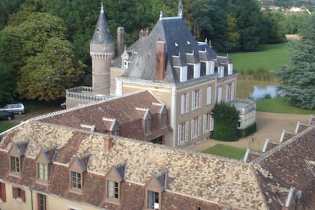 Family Castle in French Countryside - La Bazoche-Gouet
