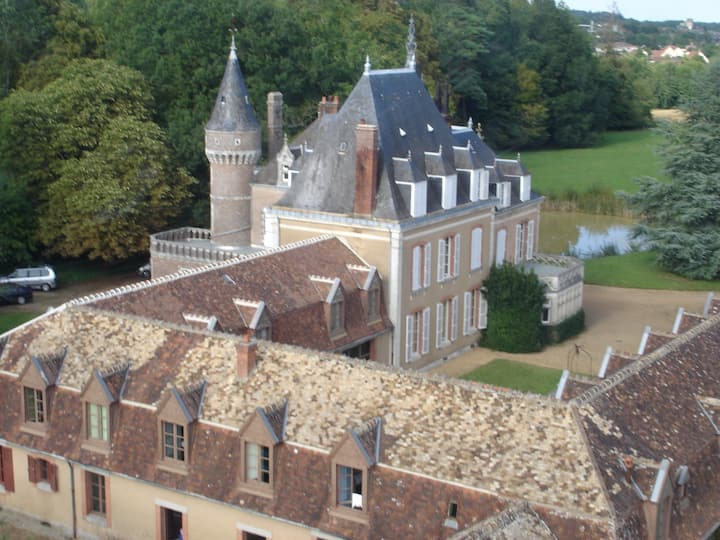 Family Castle in French Countryside