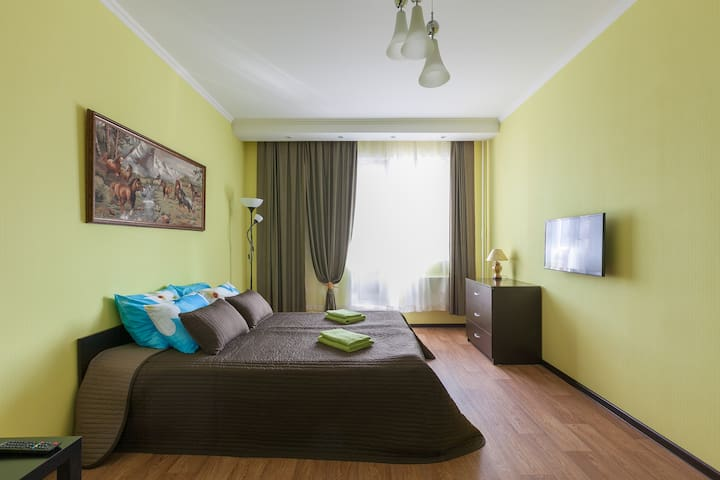 Уютная квартира рядом с Шереметьево KakDoma-SVO - Lobnya - Apartamento