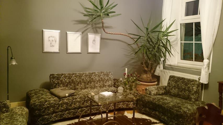 stilvoller Altbau in der Stadtmitte - Hof - Apartment