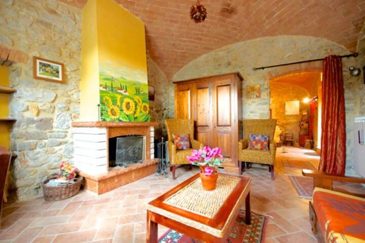 Apartment in Tuscany near Saturnia