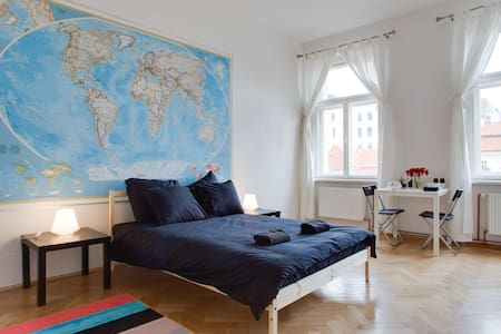 Cute room in the heart of Prague