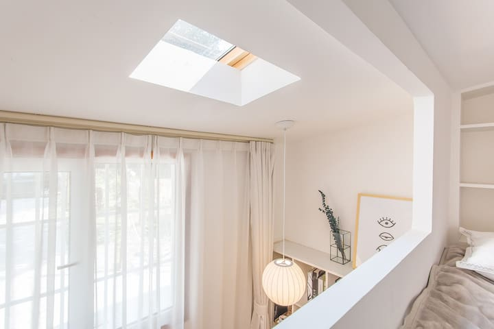 Special skylight for you, like sunday like rain :)