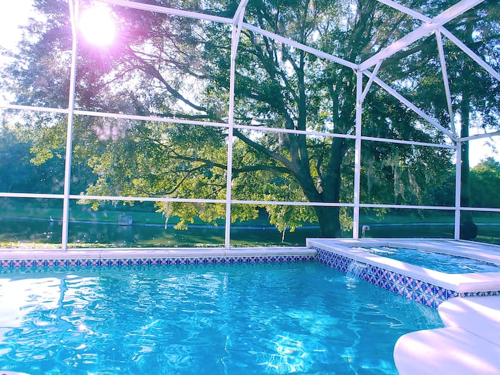 Private Heated Pool w/ View! Soothing Tranquility!