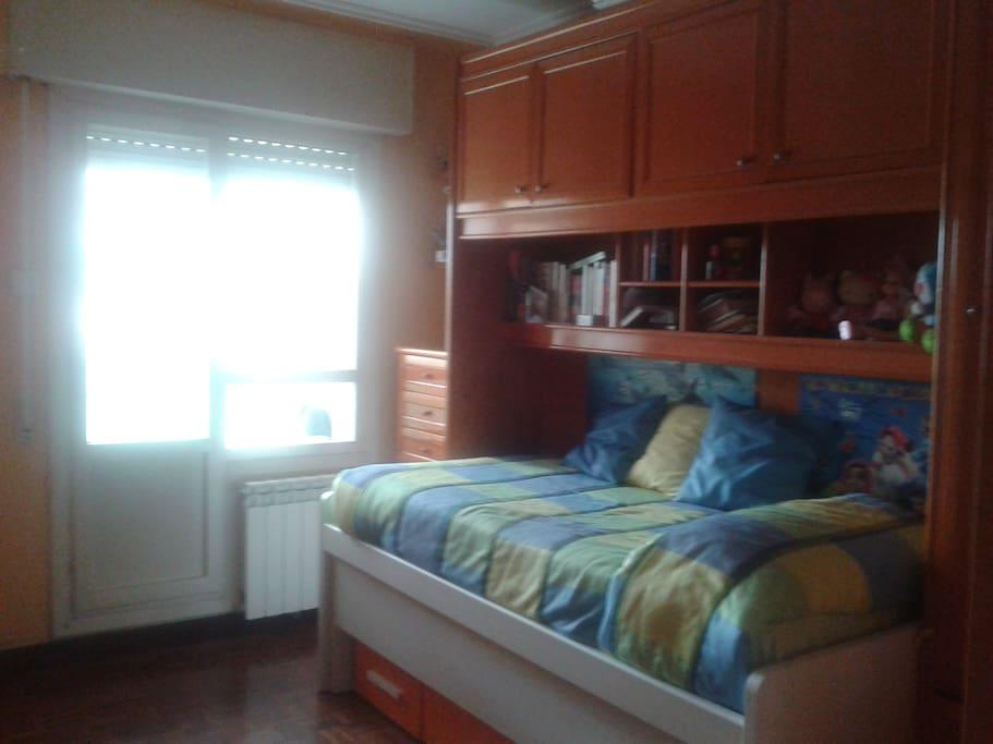 Habitaci n para una o dos personas el refugio - Apartamentos en alquiler en vitoria ...