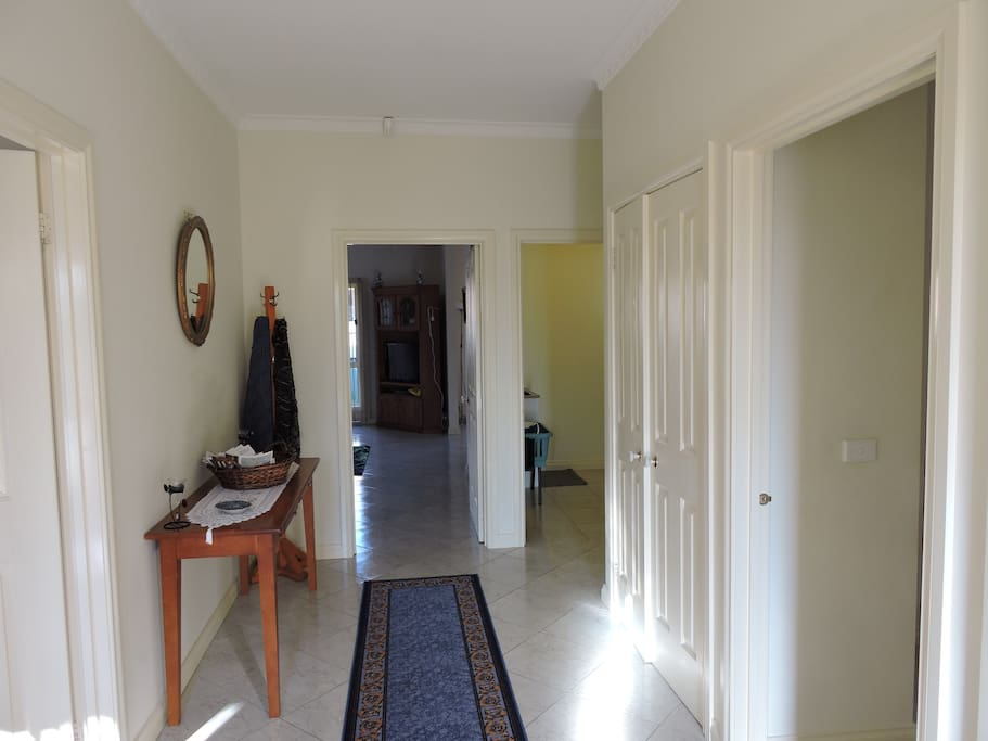 Front entrance hallway - spacious and welcoming
