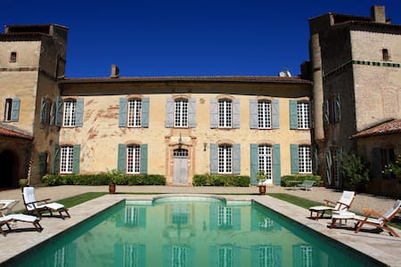 French castle in South of France, Toulouse