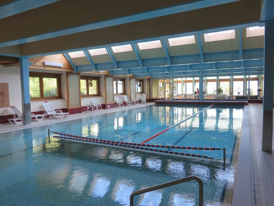 Heated Pool, accessible for guests