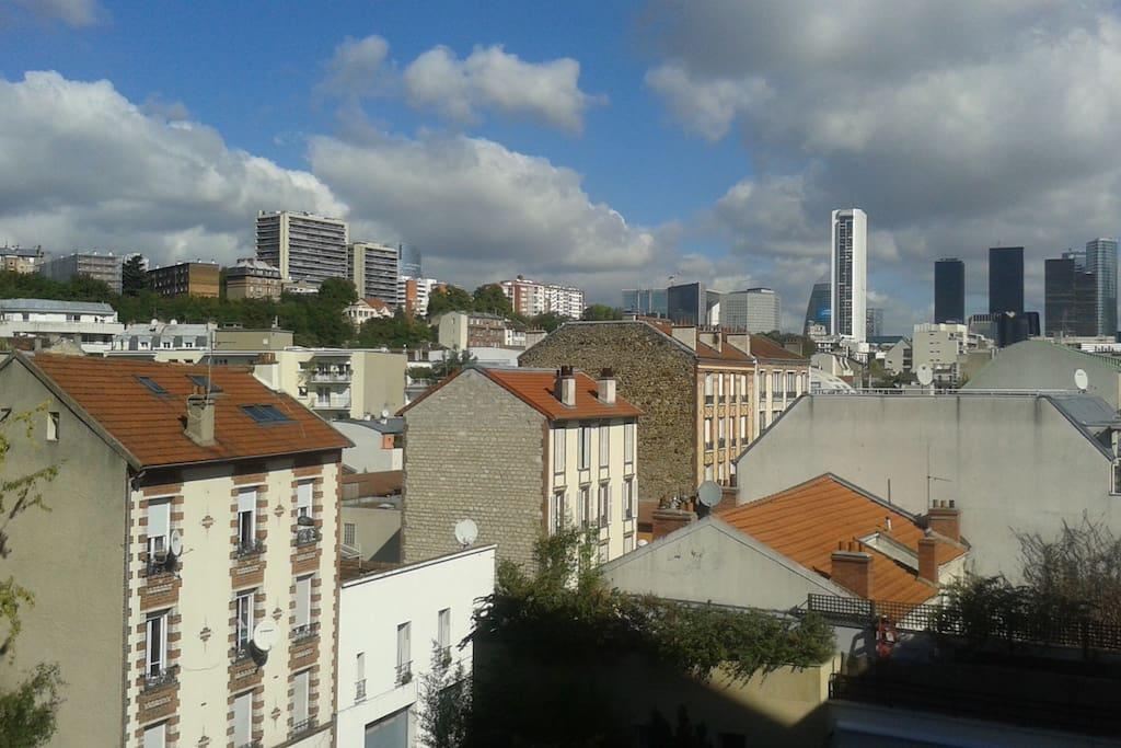 The Financial District of Paris-La Défense 5 minutes away by train/tram