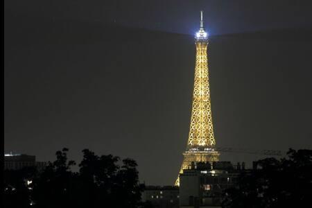 Avec terrasse vue Tour Eiffel - Wohnung