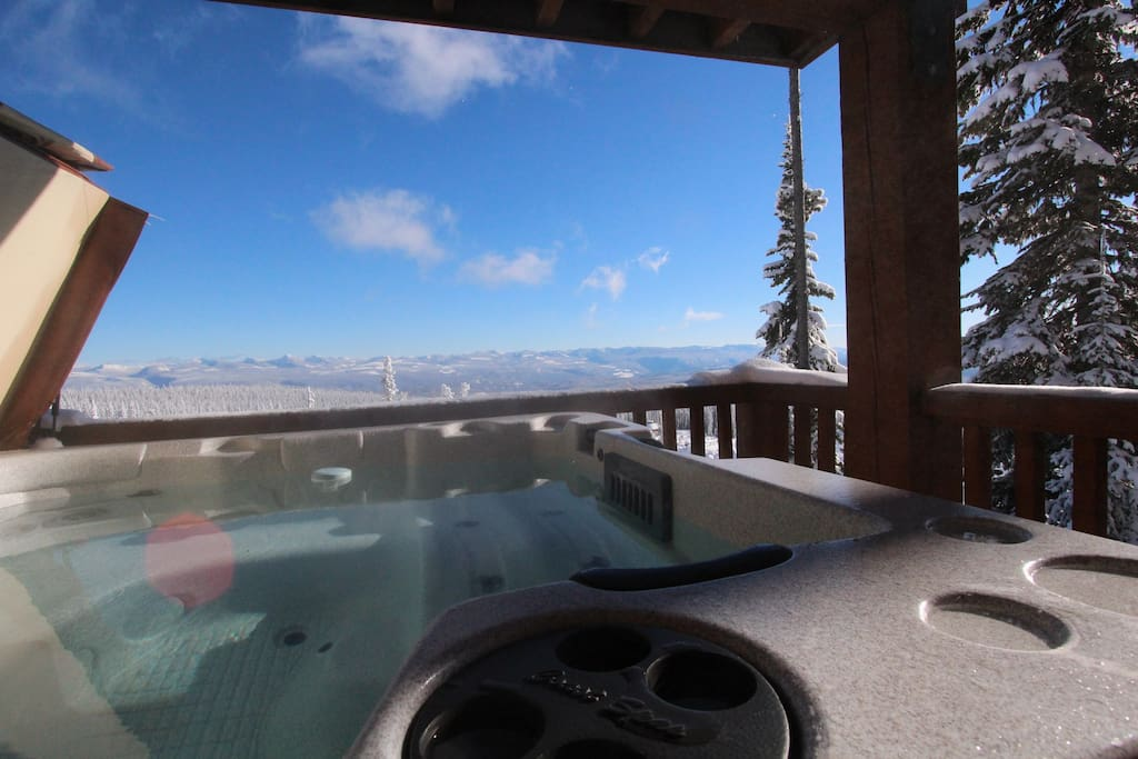 Another amazing view from the hot tub