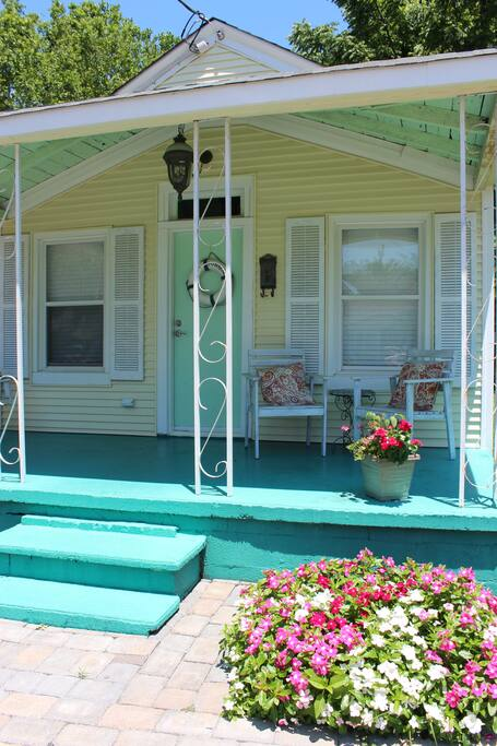Front porch is a great place all year long. Morning coffee, Afternoon ?, Read the paper, do work or read a book!