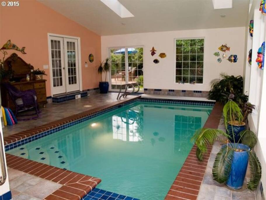 Luxury Estate With Indoor Pool Spa Houses For Rent In