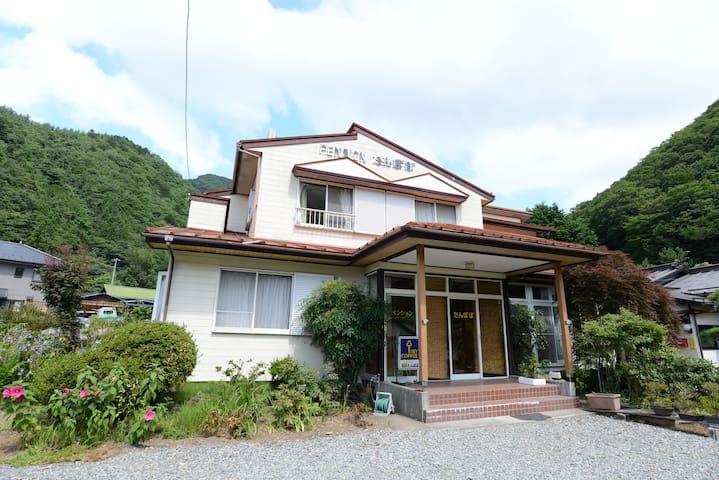 Villa of Lake Shoji & Mt Fuji - Fujikawaguchiko-machi - Casa