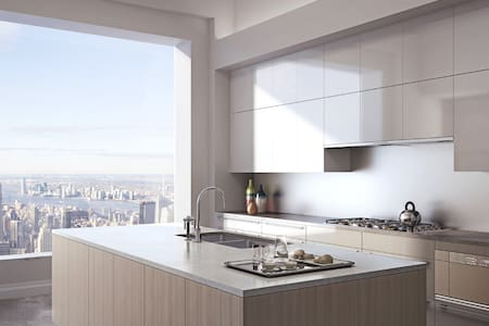 █ Modern Condo in Midtown █ - New York - Huoneisto