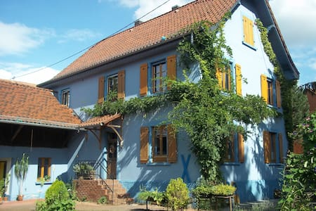 Elsass, 18km to EuropaPark - Bindernheim