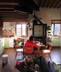 Loft in Chianti in medieval watermill - Gaiole In Chianti - Loft