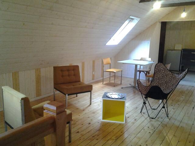 Loue grand T2 60 m2 - Plonéour-Lanvern - House