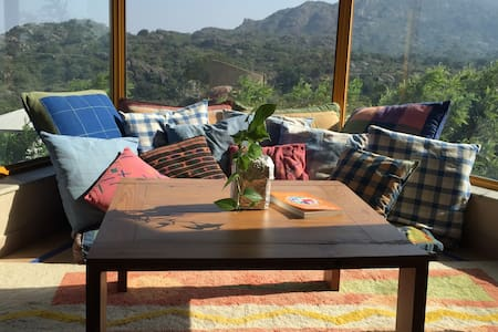 Country Home with 360° Valley View - Mount Abu