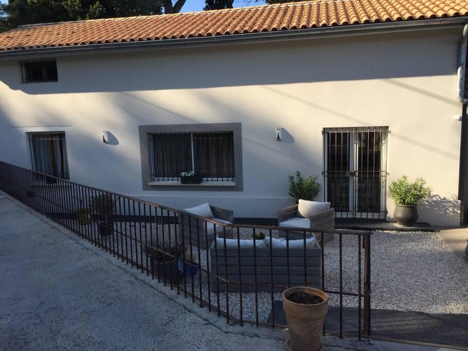 Maison proche avignon casas en alquiler en les angles languedoc rosell n francia - Casas de alquiler en francia ...