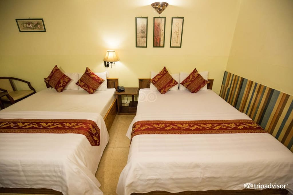2 queen bed2 room 35m2 - 4 persons