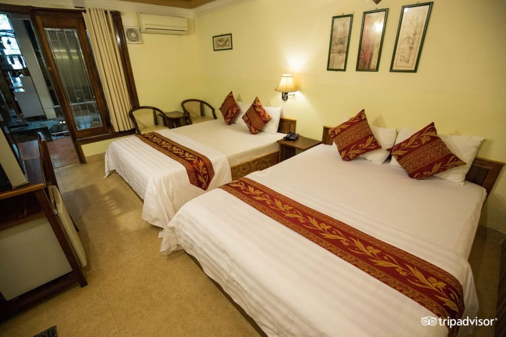 2 queen bed2 room 35m2 - 4 persons5