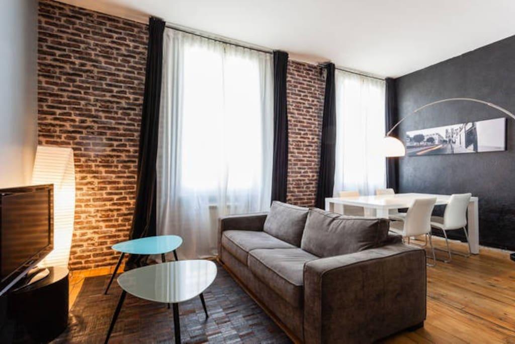 Reims centre plusieurs appartements confortables for Maison a louer reims